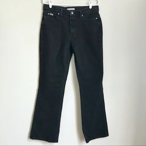 Lee Relaxed Black Denim Bootcut Jeans